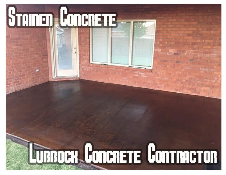 Residential Concrete Staining